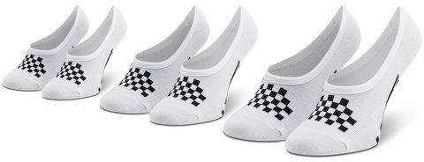 Vans Zestaw 3 par stopek dziecięcych Classic Canoodle VN0A48HCYB21 Biały
