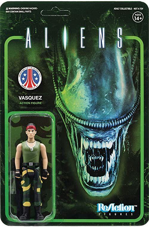Aliens ReAction Figure - Vasquez
