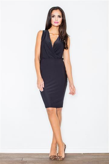 Sukienka Moretta M135 czarna