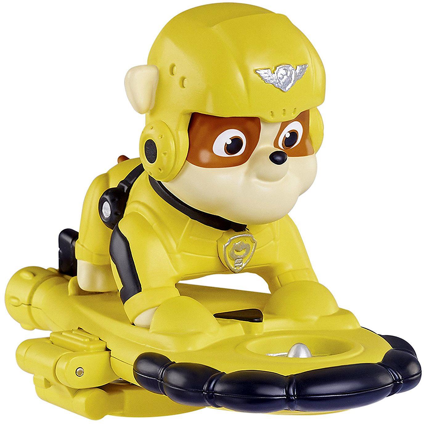 Psi Patrol - Figurka akcji Rubble z odznaką Patrol Powietrzny 71466 16669