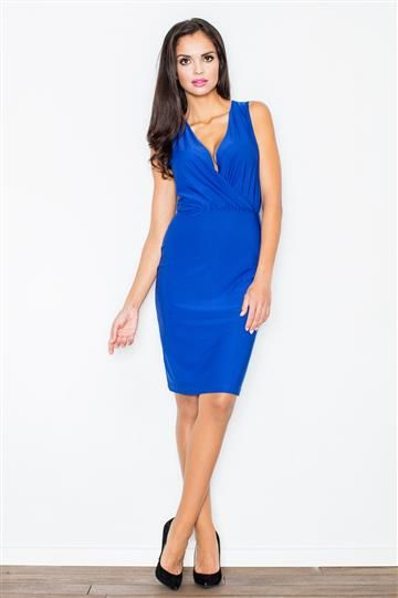 Sukienka Moretta M135 niebieska