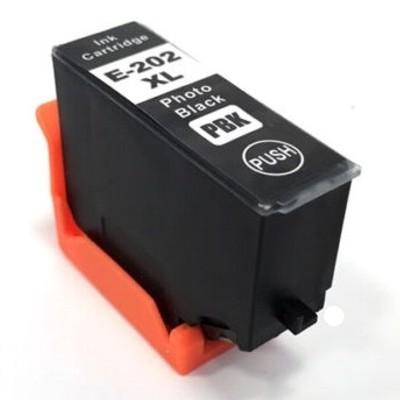 Tusz Zamiennik 202 XL do Epson (C13T02H14010) (Czarny Foto) - DARMOWA DOSTAWA w 24h