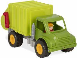 Battat  ton śmieci, z 2 pojemnikami na śmieci i 1 kierowcą  kosz na śmieci dla dzieci od 18 miesięcy (4 części)