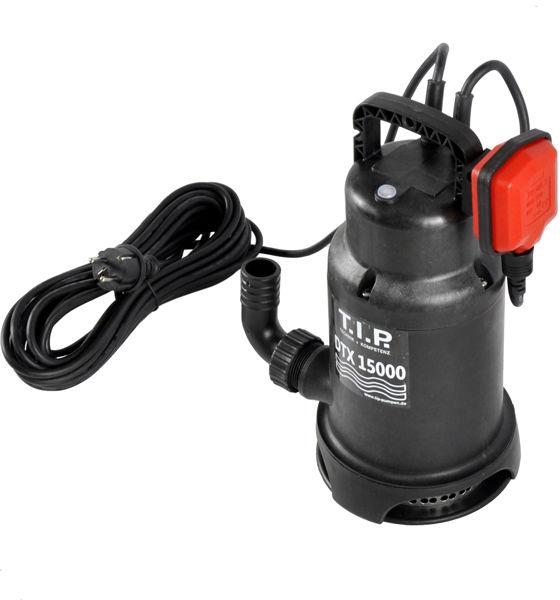 Pompa do wody brudnej z pływakiem 600W 15 000l/h