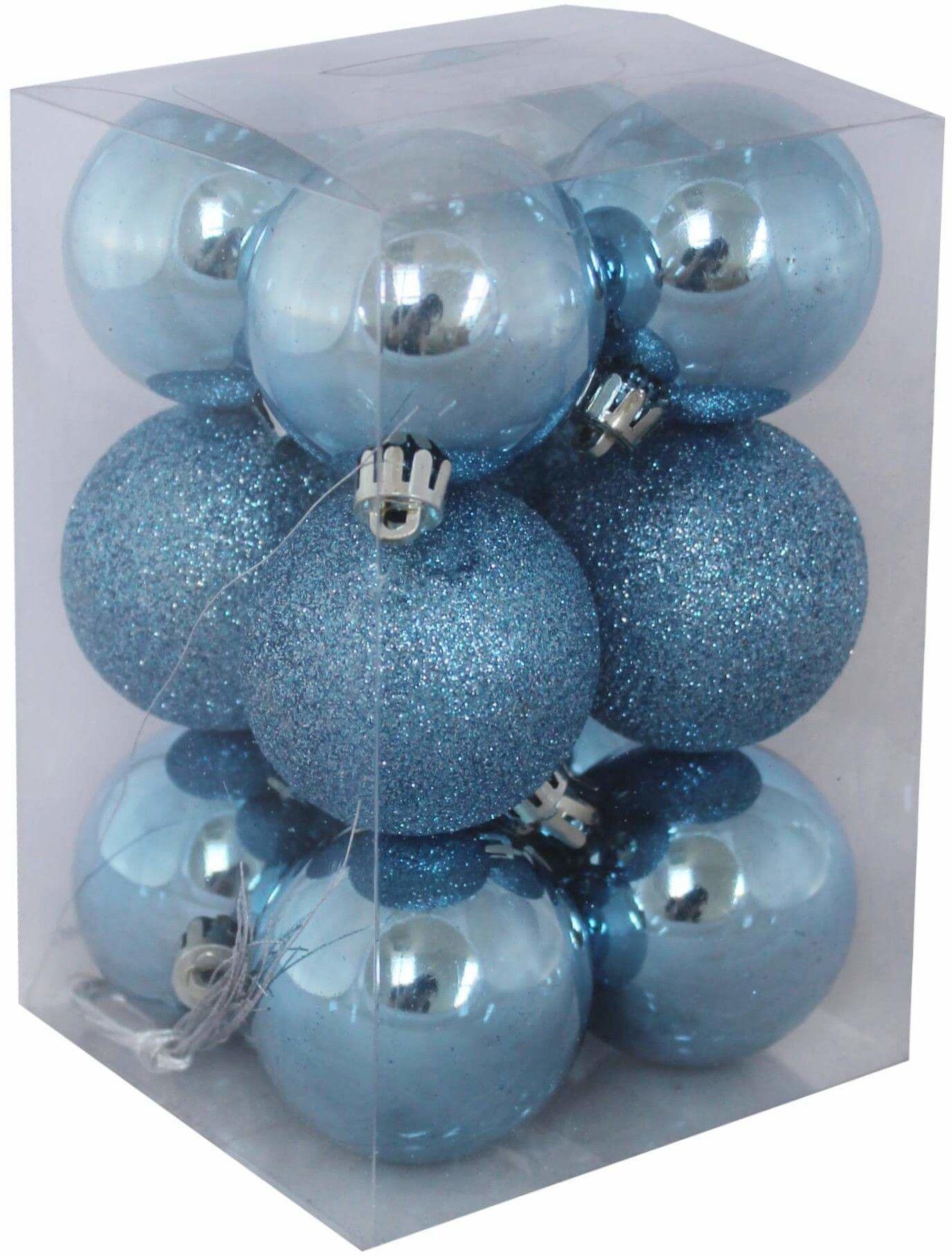Bombki świąteczne 5cm kpl. 12szt