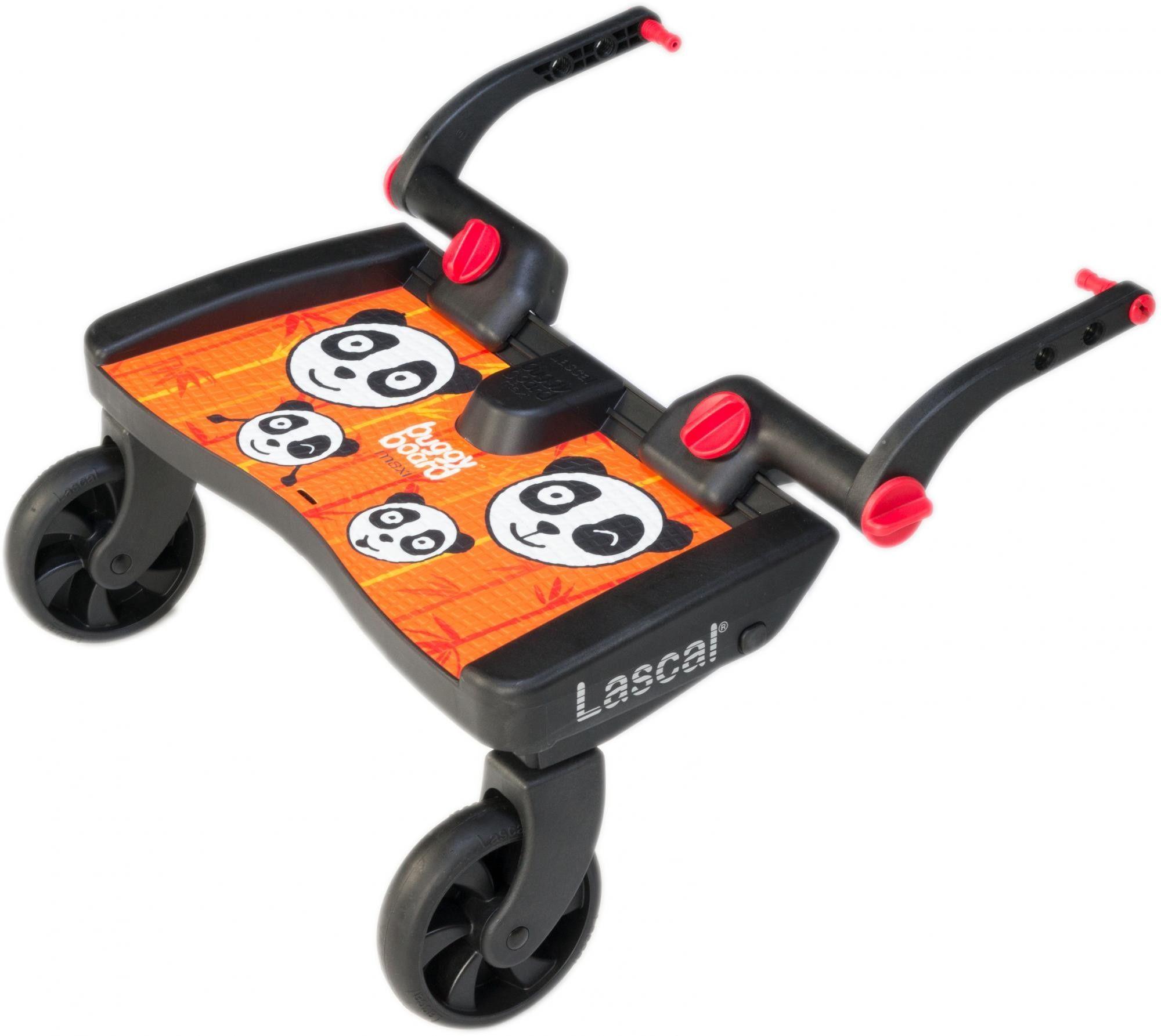 Lascal Buggy Board Maxi dostawka do wózka panda jungle orange