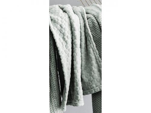 KOC PLED GAUFRES - Circa MIĘTOWY 125x150