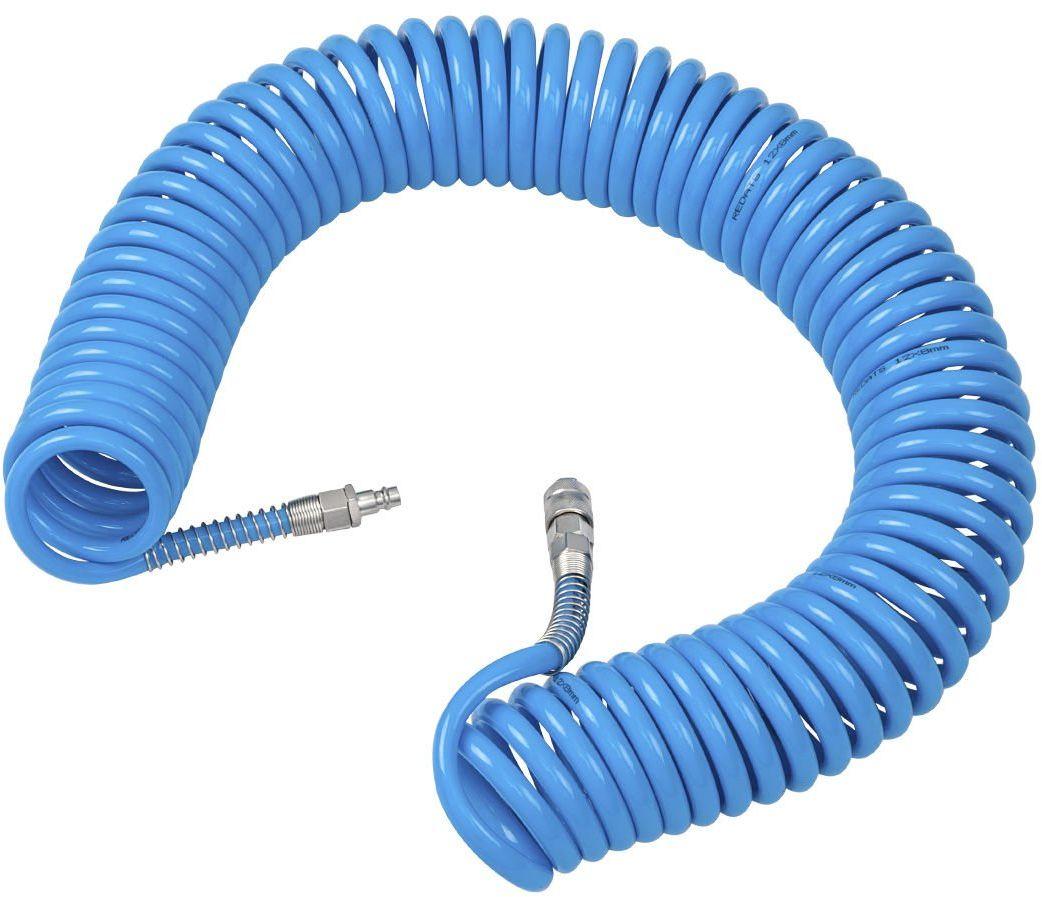 Wąż Pneumatyczny Spiralny Poliuretanowy 8x12mm 15m