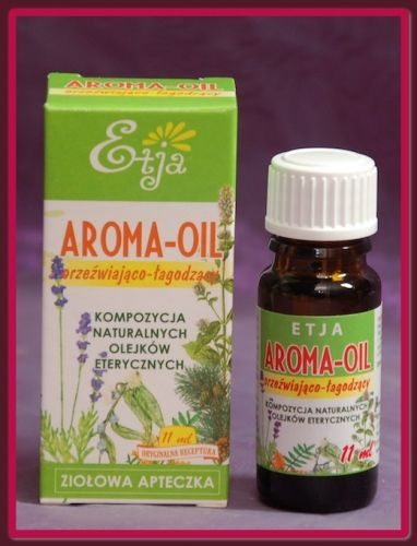 AROMA OIL - Kompozycja olejków eterycznych ETJA 10 ml
