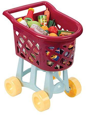 Battat BT2424Z - wózek na zakupy, zabawa, wielokolorowy