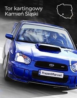 Jazda Subaru Impreza STI  Tor Silesia Ring karting