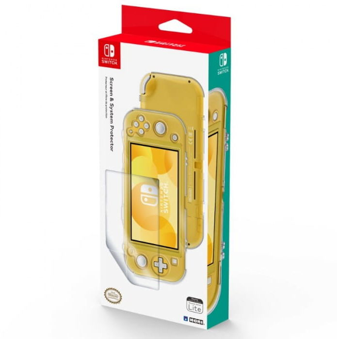 Osłona i folia Screen & System Protector (Switch Lite)