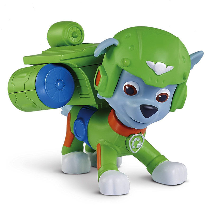 Psi Patrol - Figurka akcji Rocky z odznaką Patrol Powietrzny 20071467