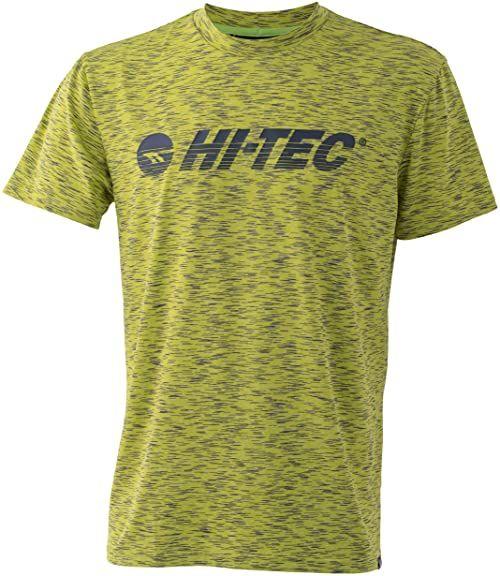 Hi-Tec Męski T-shirt Garcia Złoty kiwi L