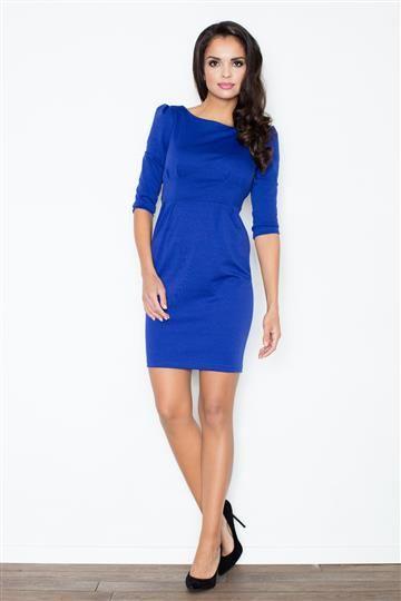 Sukienka Rachela M082 Niebieska