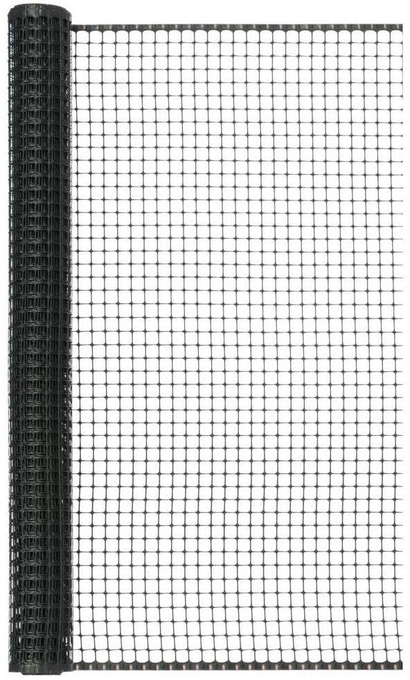Siatka plastikowa 1 x 5 m antracytowa MAXISQUARE NORTENE