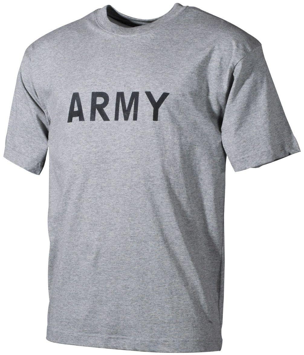 Koszulka T-shirt MFH Army Grey (00253M)