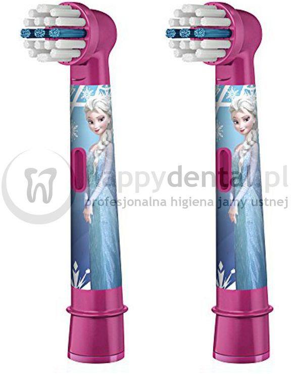 BRAUN Oral-B Stages Power 2szt. EB10-2 - końcówki do szczoteczki dla dzieci - wersja FROZEN (kraina lodu)