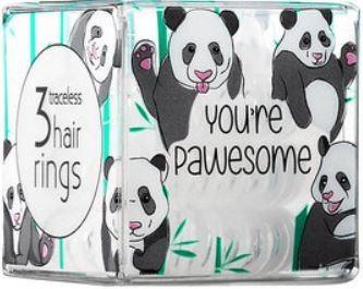 INVISIBOBBLE POWER You''re Pawesome - mleczne gumki do włosów 3 pack