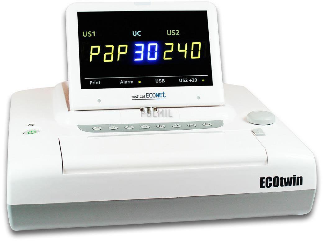 "Kardiotokograf ciąży bliźniaczej EcoTwin LED ""MedicaEconet"" x 1 szt"