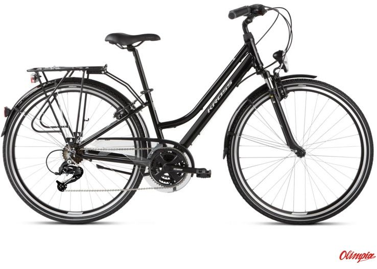 Rower Kross Trans 2.0 SR czarny/szary połysk 2021