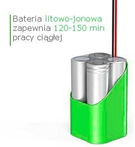 Bateria litowo-jonowa 2600mAh do robota sprzątającego Dibea D960 i DT969