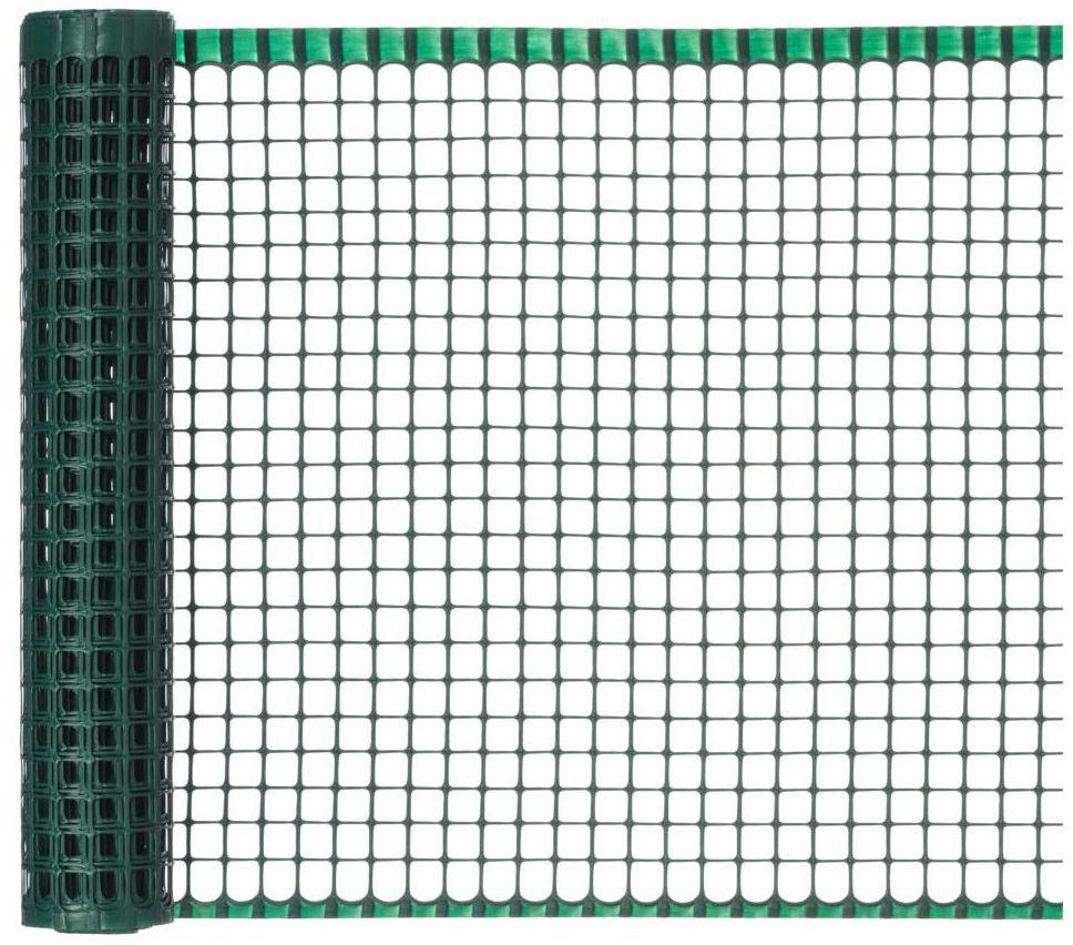 Siatka plastikowa 0.5 x 5 m zielona MAXISQUARE NORTENE