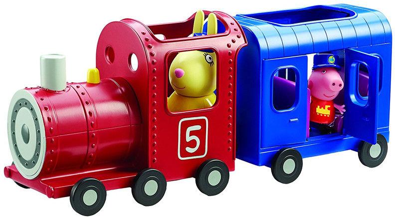 Świnka Peppa - Pociąg pani Królik z wagonikiem 06152