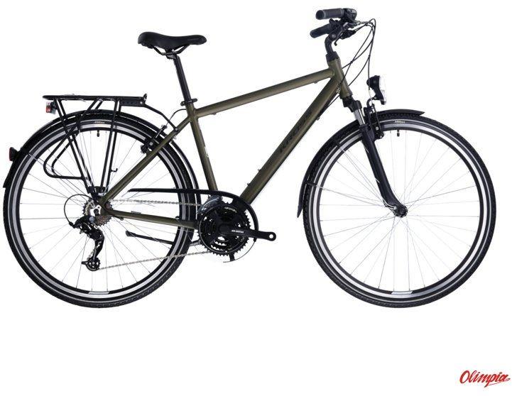 Rower Kross Trans 2.0 SR khaki/czarny mat 2021