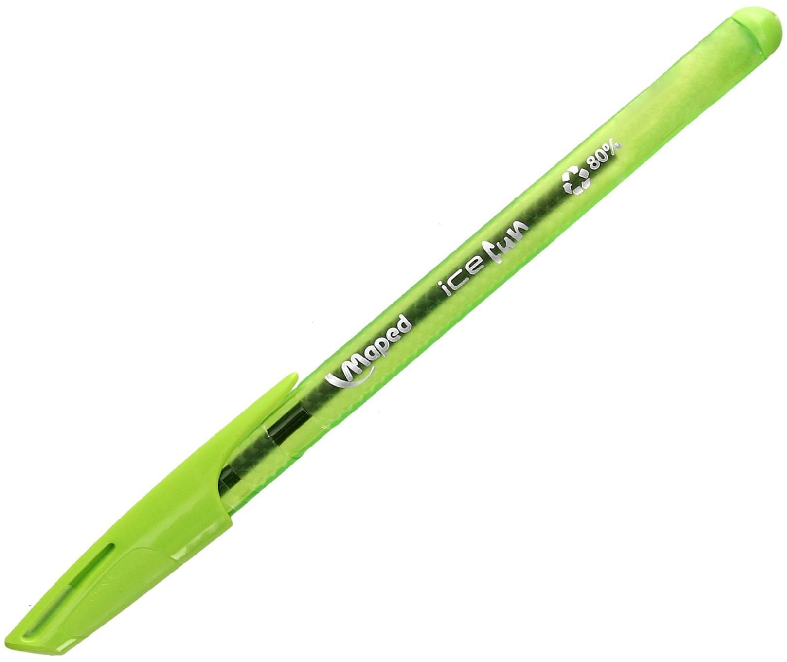Długopis jasnozielony Ice Fun Maped 224553