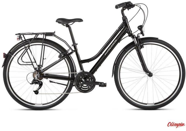 Rower Kross Trans 1.0 SR czarny/szary połysk 2021