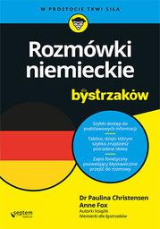 Rozmówki niemieckie dla bystrzaków - dostawa GRATIS!.