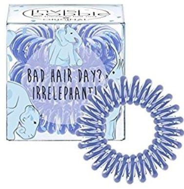 INVISIBOBBLE Bad hair day? Irrelephant - niebieska gumka do włosów 3 pack