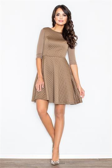 Sukienka Zoe M235 bezowa