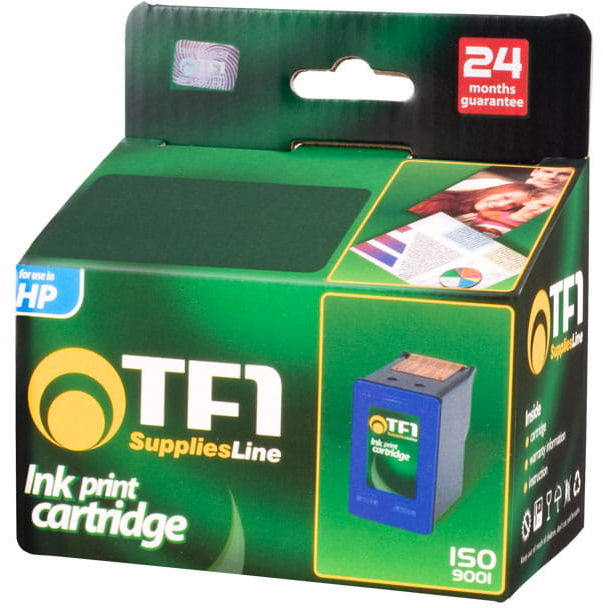 Tusz TFO HP 15XL (C6615D) czarny