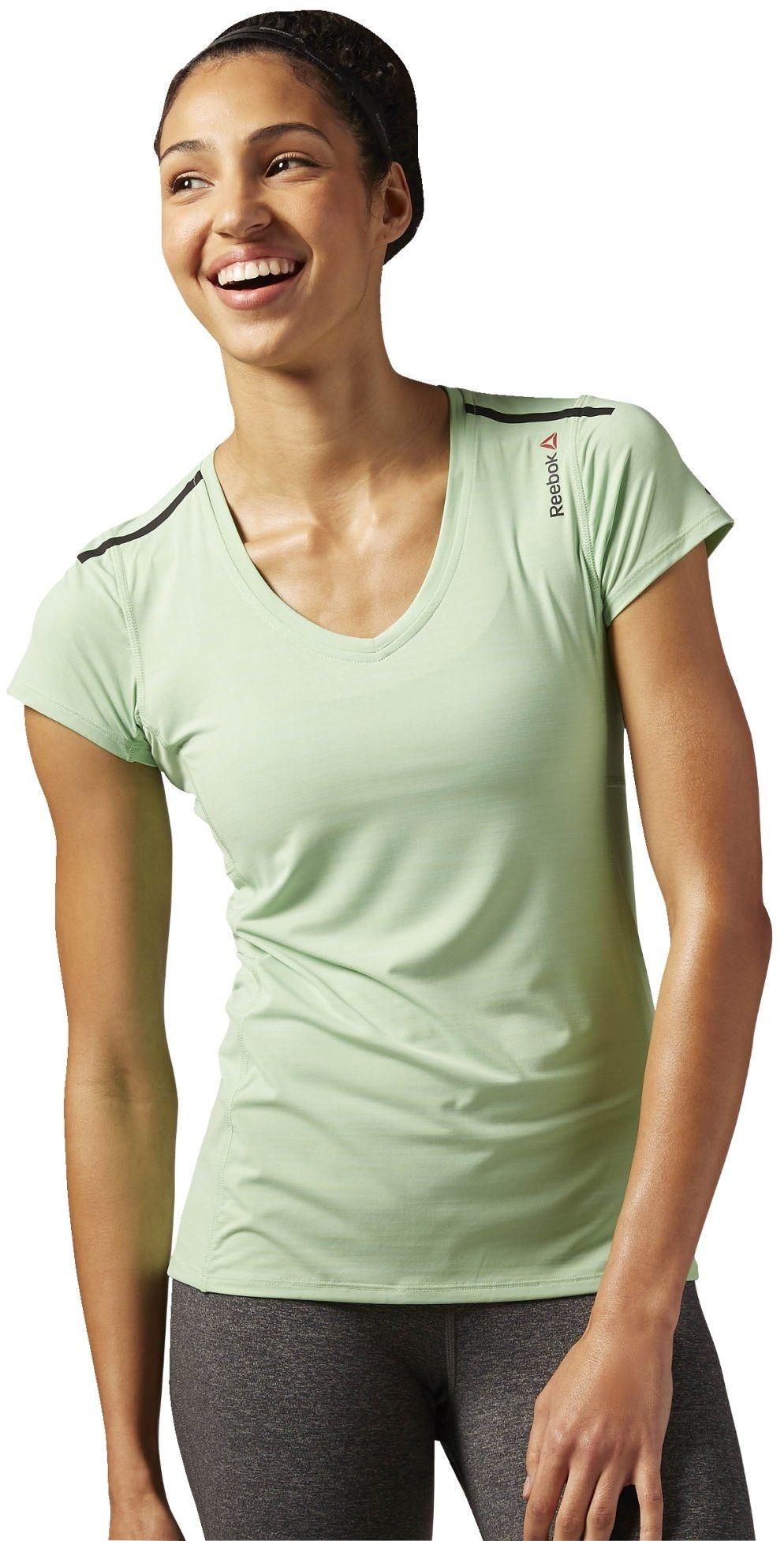 Reebok ONE Series ACTIV Chill T-Shirt, Seafoam Green, L