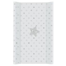 MAMO-TATO Przewijak na łóżeczko usztywniony 50x70 Gwiazdki Szare