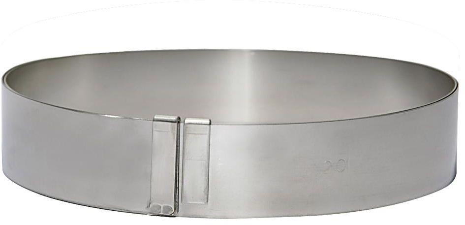 Rant piekarniczo-cukierniczy okrągły regulowany - śr. 18-36 cm