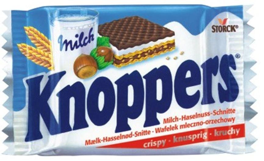 Knoppers wafel mleczno-orzechowy 25g