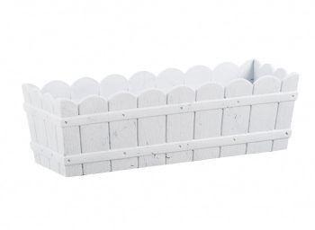 Skrzynka Country, 50x17x15cm, kol. biały