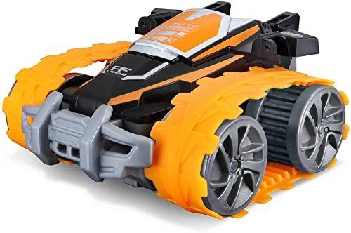 Maisto 581473 X Ranger zdalnie sterowany samochód, czarno-pomarańczowy