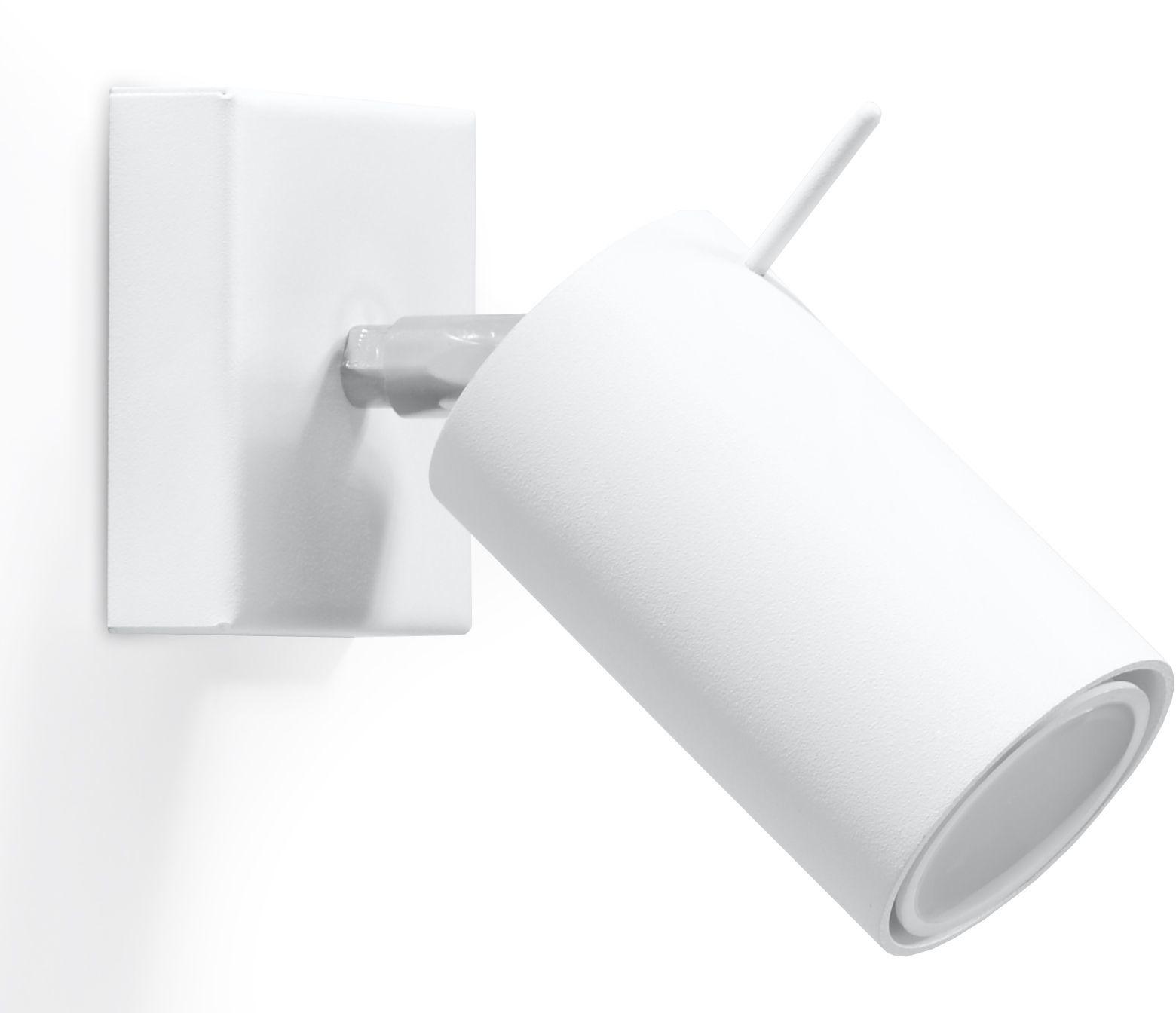Minimalistyczny kinkiet regulowany E720-Rins - biały