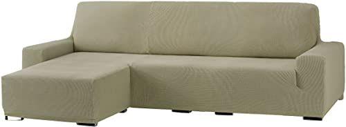 Eysa Cora Bi-elastyczny szezlong, krótkie ramię lewe, poliester, bawełna, len, 39 x 35 x 19 cm