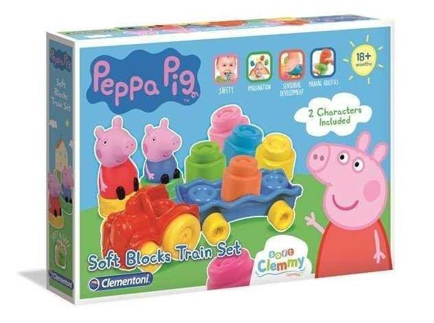 Clemmy Soft. Pociąg Peppa Pig - Clementoni