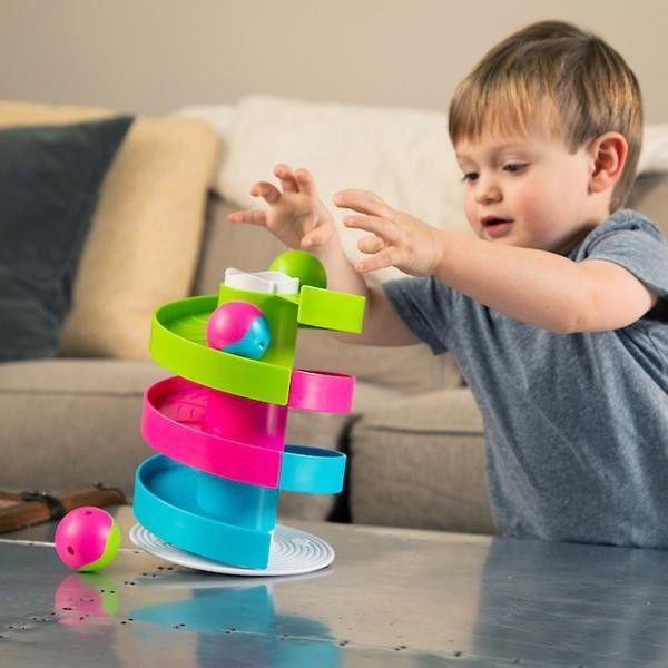 Fat Brain Toys - kołyszący się tor dla kulek Wobble Run