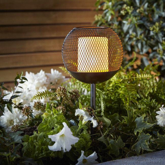 Lampka solarna wbijana Blooma Koyaka Deco świeczka