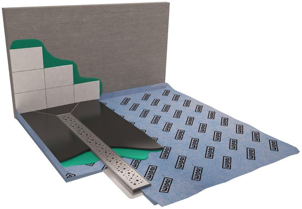Wiper Showerbase płyta prysznicowa z odpływem liniowym OL 80x80 cm