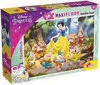 Puzzle podłogowe dwustronne 24 Disney Princess - Lisciani