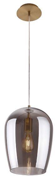 Lampa wisząca Zimba P0301 MAXlight nowoczesna oprawa w kolorze szkła dymionego