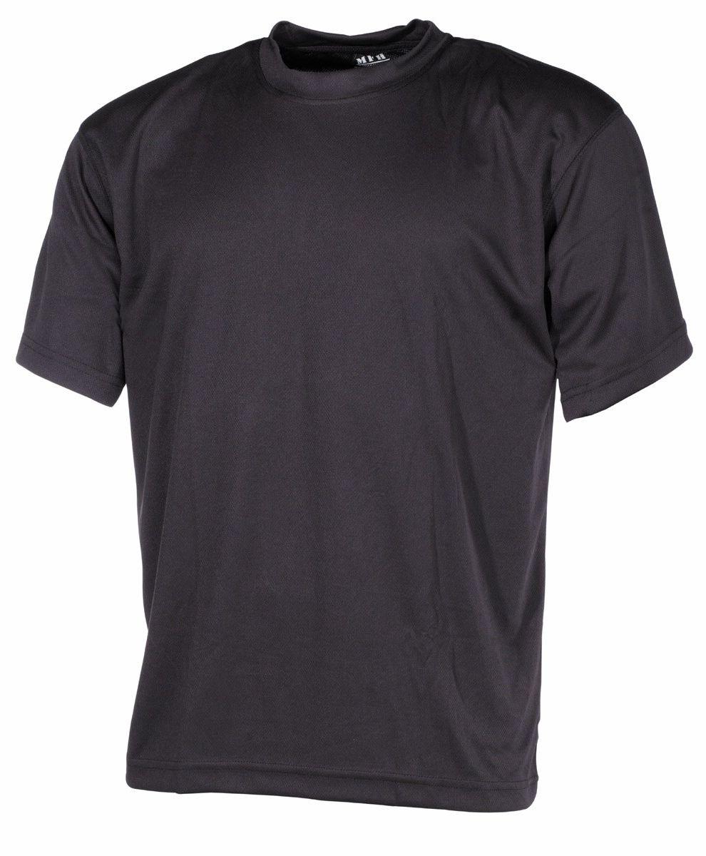 Koszulka T-shirt MFH Tactical Black (00107A)